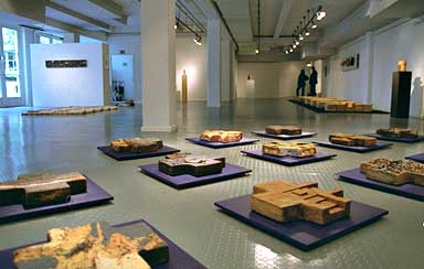 crosses installation, ceramic 1995